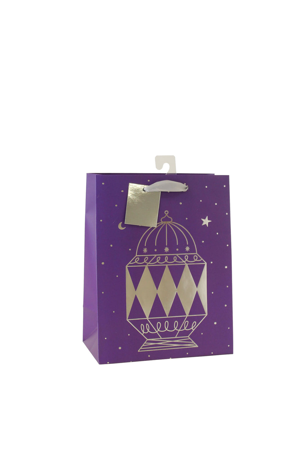 Silver Foil Lantern Gift Bag by Hello Holy Days!