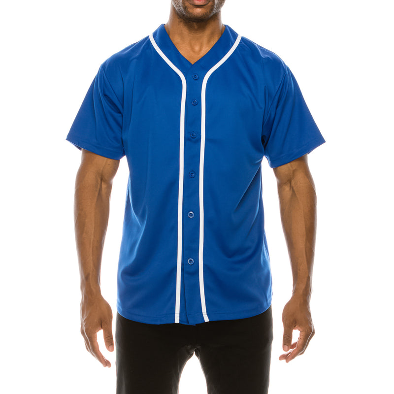 BASEBALL JERSEY - ROYAL BLUE