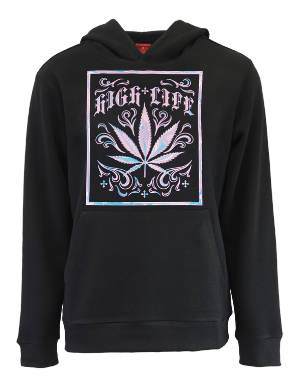 IRIDESCENT HIGH LIFE FLEECE PULLOVER
