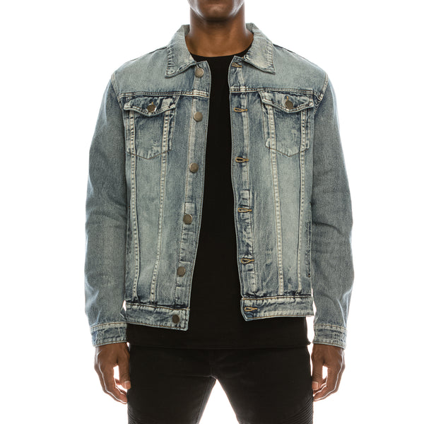 LION KING DENIM JACKET - INDIGO
