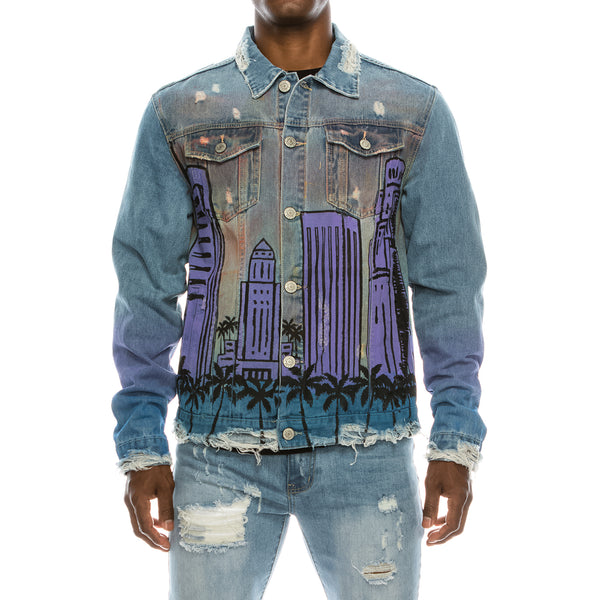 AIR BRUSH CITY JACKET
