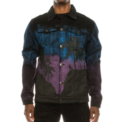 CALI WOLF NIGHT DENIM JACKET
