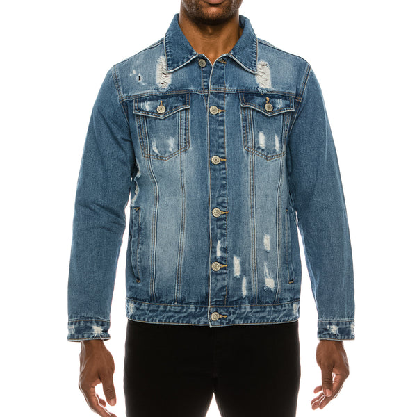 WORLD TOUR DENIM JACKET -  INDIGO