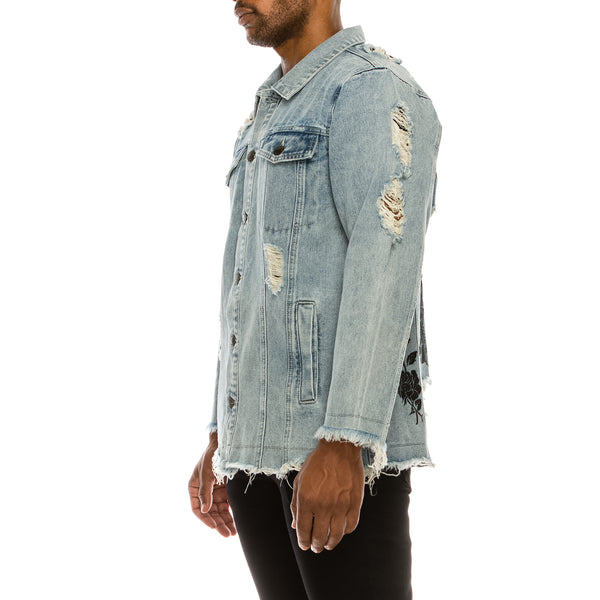 LITTLE ANGEL DENIM JACKET