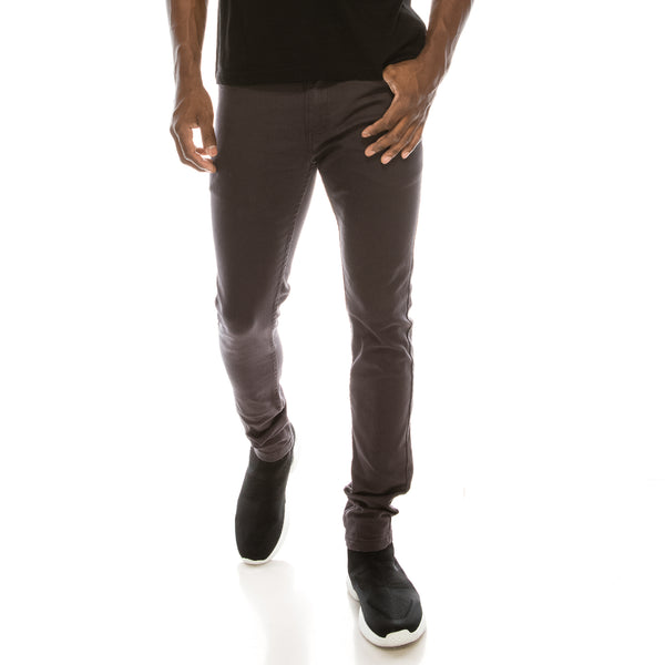 Ultra Stretch Colored Skinny Jeans - Charcoal