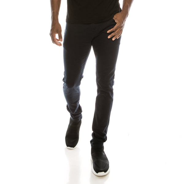 Ultra Stretch Skinny Colored Jeans - Navy