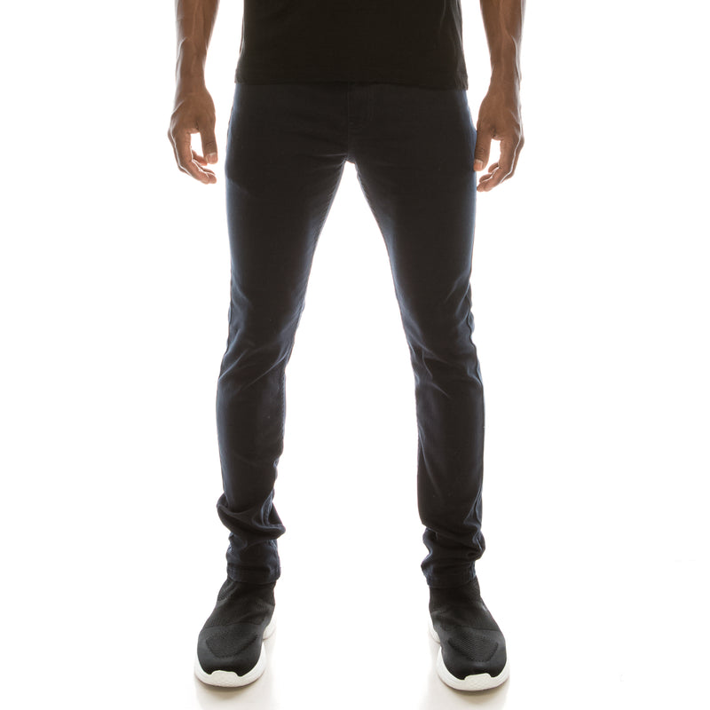 Ultra Stretch Colored Skinny Jeans - Navy