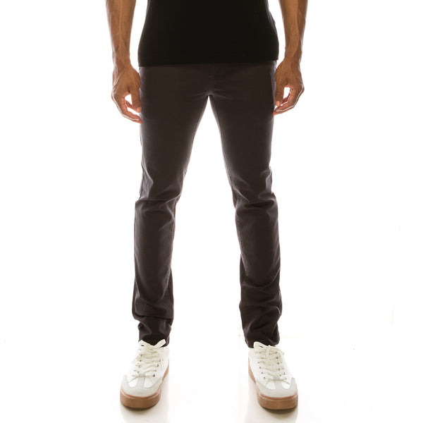 ESSENTIAL  CHINO PANTS  - CHARCOAL