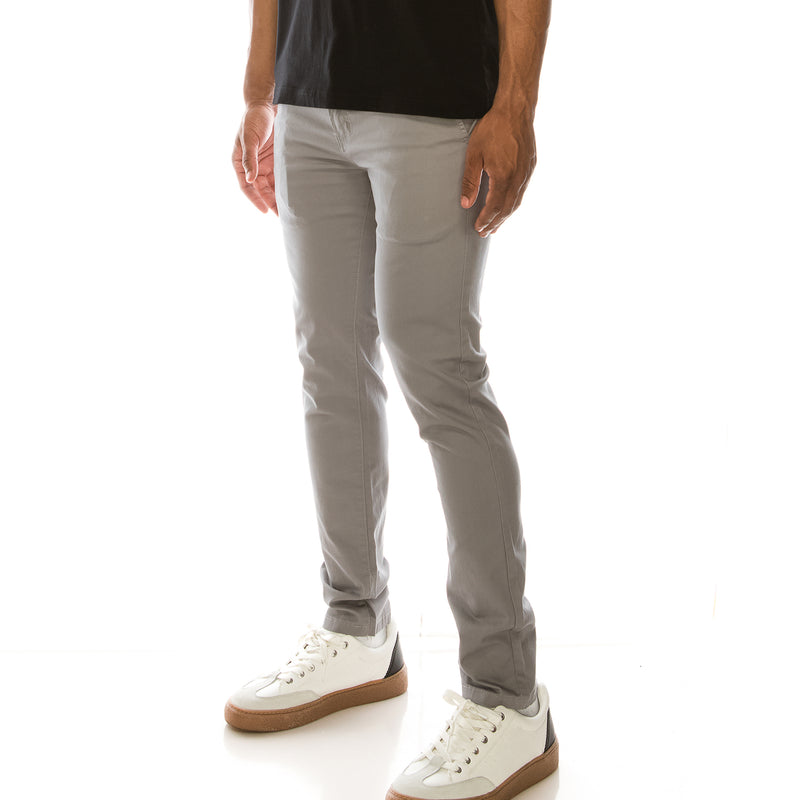 ESSENTIAL  CHINO PANTS  - DARK GREY