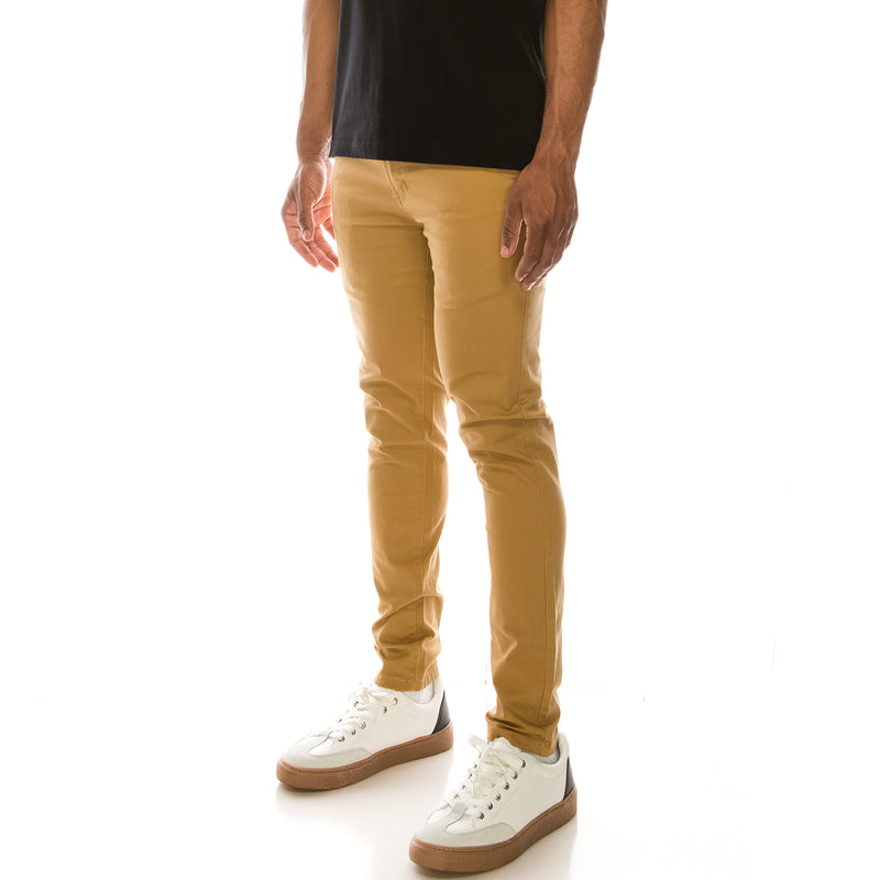 ESSENTIAL  CHINO PANTS  - WHEAT