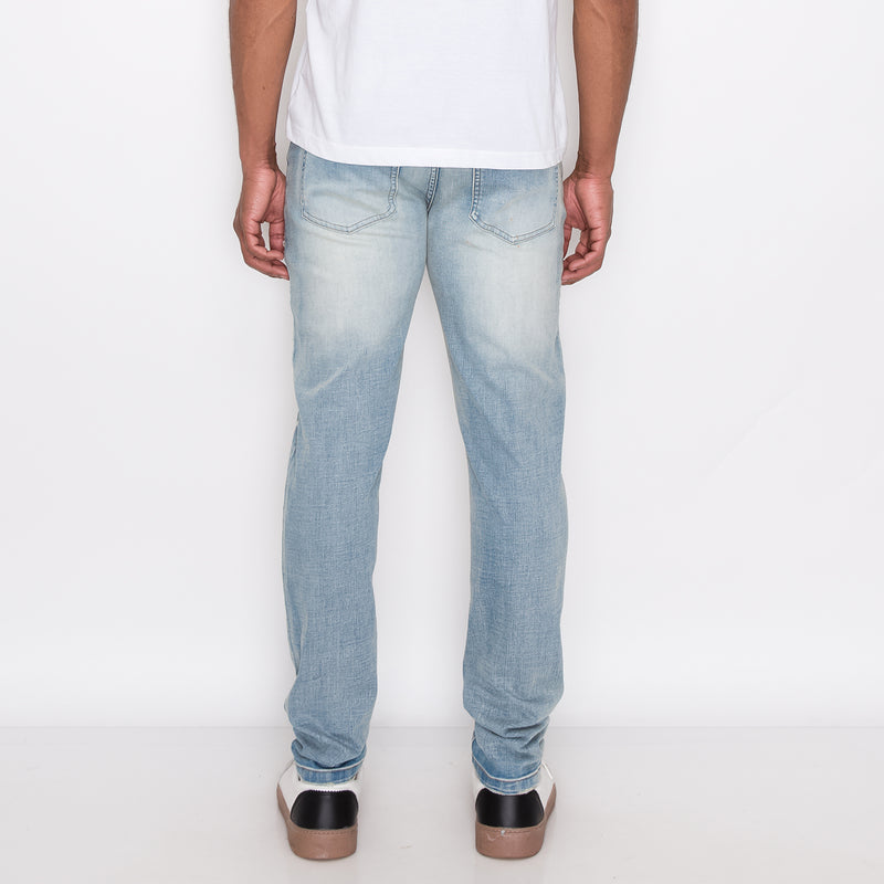 HEAVY RIP AND REPAIR SUPER SKINNY FIT JEANS