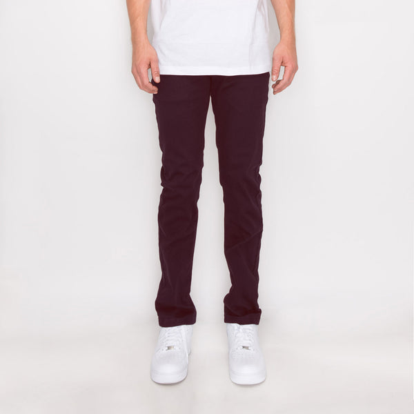 ESSENTIAL COLORED SKINNY JEANS - FIG