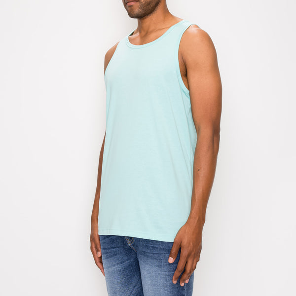 ESSENTIAL LONG LENGTH TANK TOP - MINT