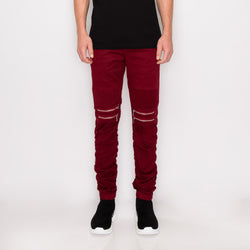 Everyday Skinny Raw Denim Jeans - Black/Black