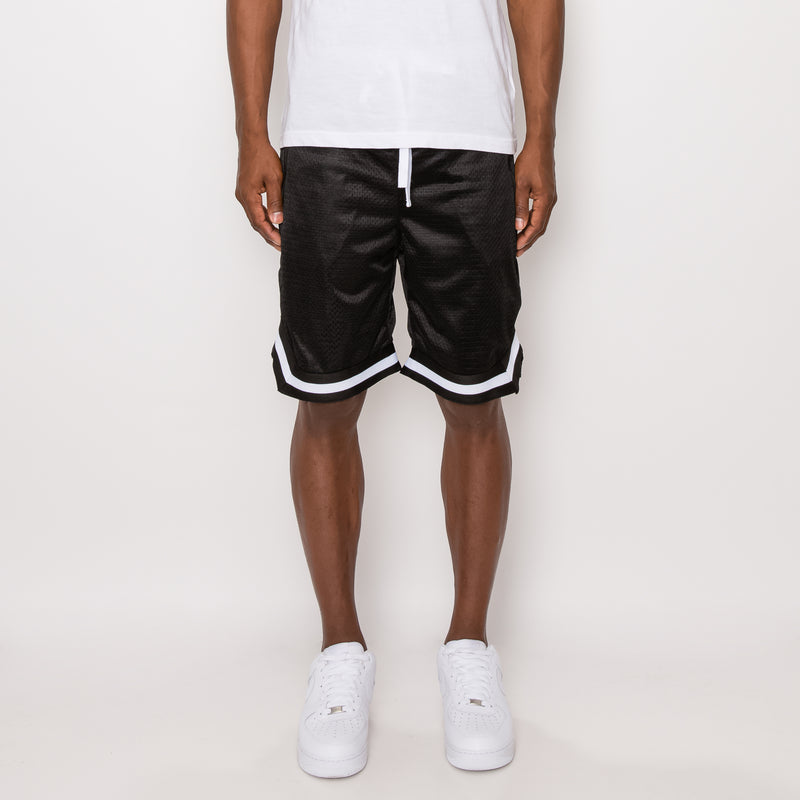 AIR MESH BASKETBALL SHORTS -BLACK