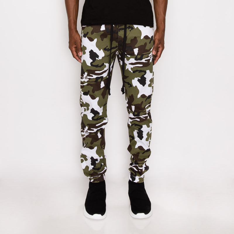 CAMO JOGGER PANTS - WINTER CAMO