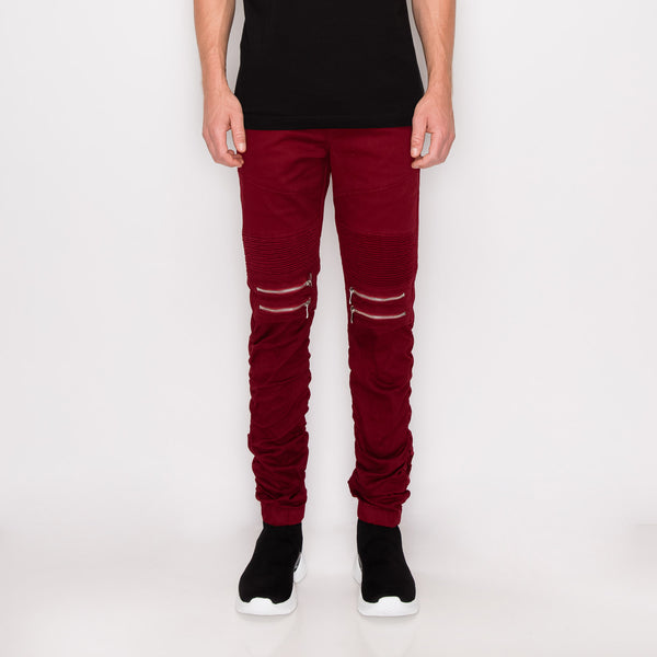 Essential Raw Denim  Skinny Jeans - Black / Black