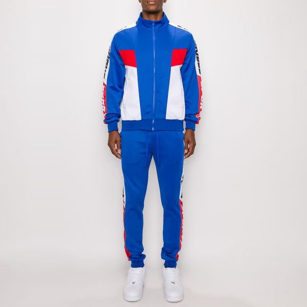 VICTORIOUS SPORTS TRACK SUIT - R BLUE