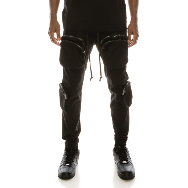 TACTICAL JOGGER PANTS - BLACK