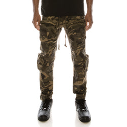 TACTICAL JOGGER PANTS - CAMO