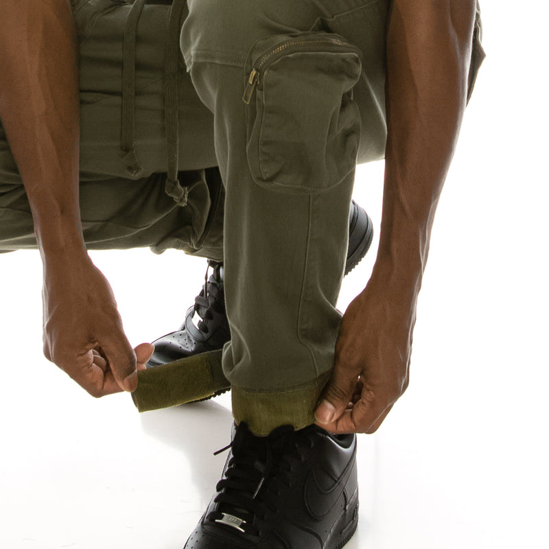 TACTICAL JOGGER PANTS - OLIVE