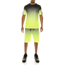 GRADATION TRACK SUITS SET - NEON YELLOW