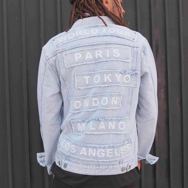 WORLD TOUR DENIM JACKET - LIGHT INDIGO