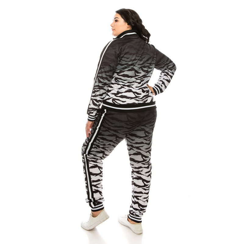 TIGER CAMO TRACK SUITS