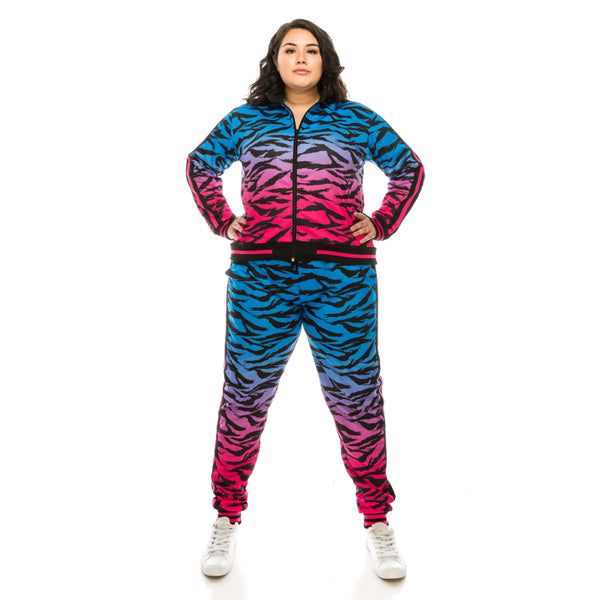 TIGER CAMO TRACK SUITS (Curve)