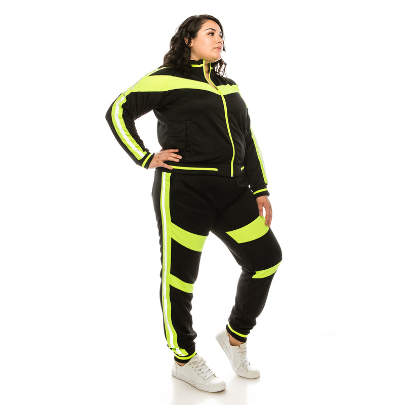 REFLECTIVE MOTO TRACK SUITS