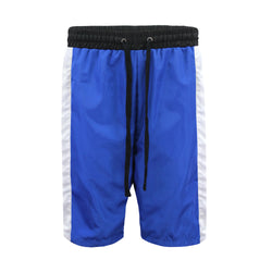 NYLON TRACK SHORTS -ROYAL BLUE