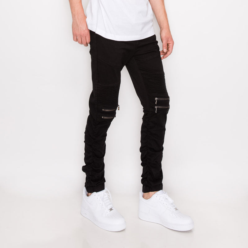 BUNGEE JOGGER PANTS - BLACK