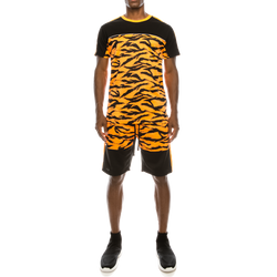 REFLECTIVE TAPE TIGER CAMO SUITS SET - NEON ORAMGE