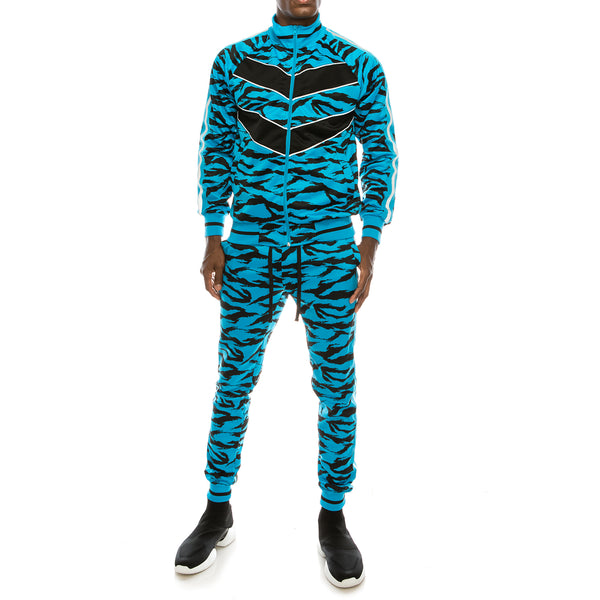 REFLECTIVE TAPE TIGER TRACK SET - BLUE