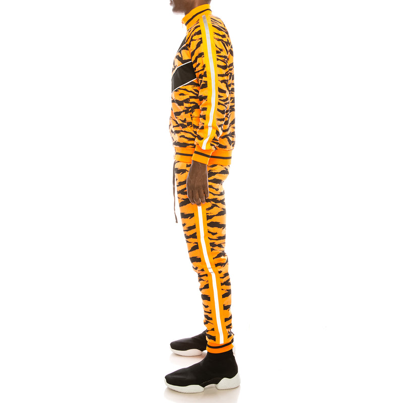 REFLECTIVE TAPE TIGER TRACK SET - NEON ORANGE