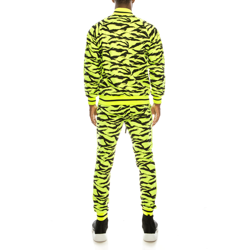 REFLECTIVE TAPE TIGER TRACK SET - NEON YELLOW