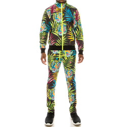 NEON TIGER TRACK SUITS SET - BLACK