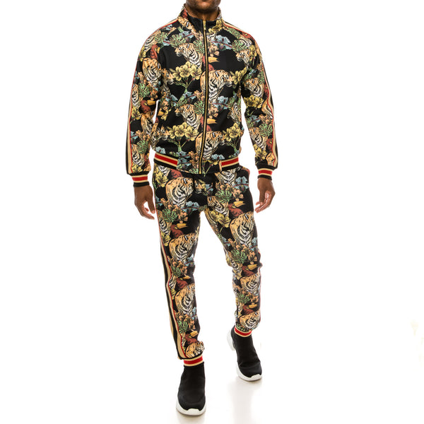 JUNGLE TIGER SUITS SET - BLACK