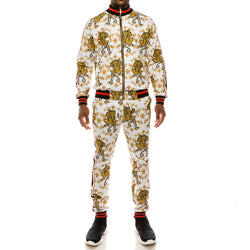 CROUCHING TIGER SUITS SET - WHITE