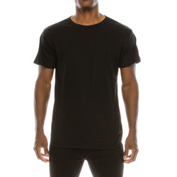 ESSENTIAL ELONGATED T-SHIRTS - DARKS