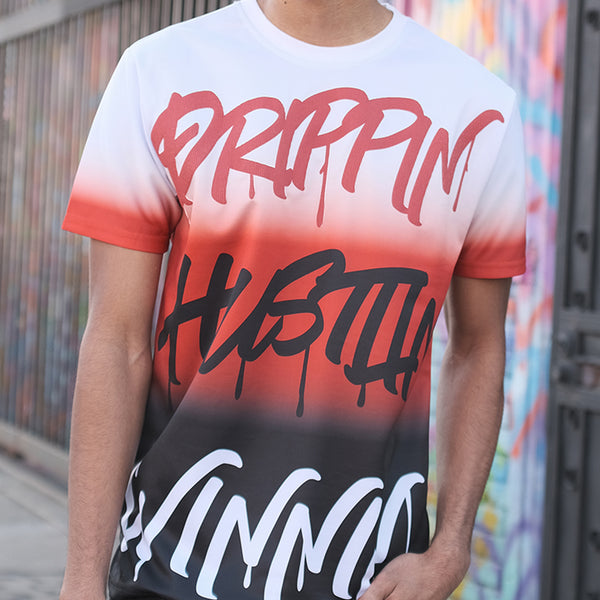 GRAFFITI T-SHIRTS - ORANGE