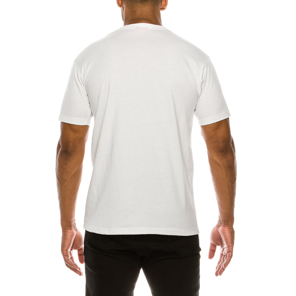 LION MARBLE T-SHIRTS - WHITE