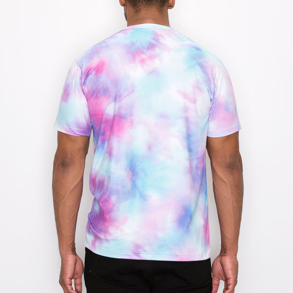 TIE DYE DRIP T-SHIRTS - COTTON CANDY