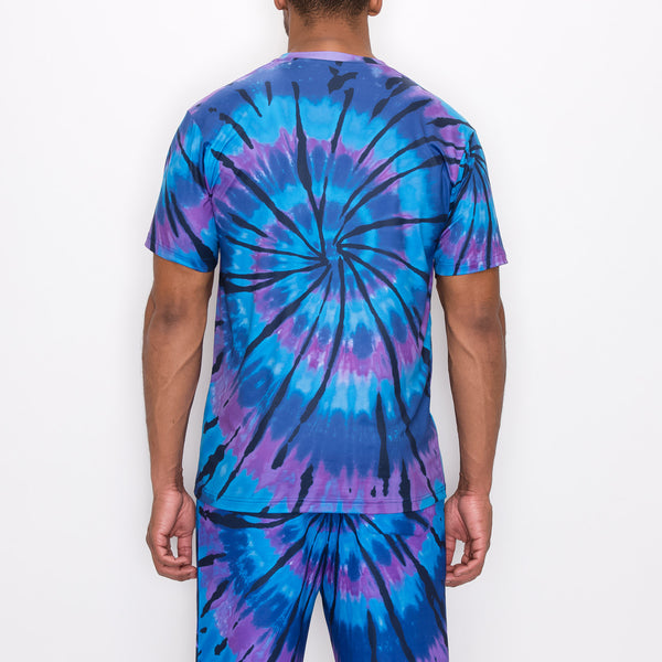 AIR BRUSH CAR T-SHIRTS - BLUE/PURPLE