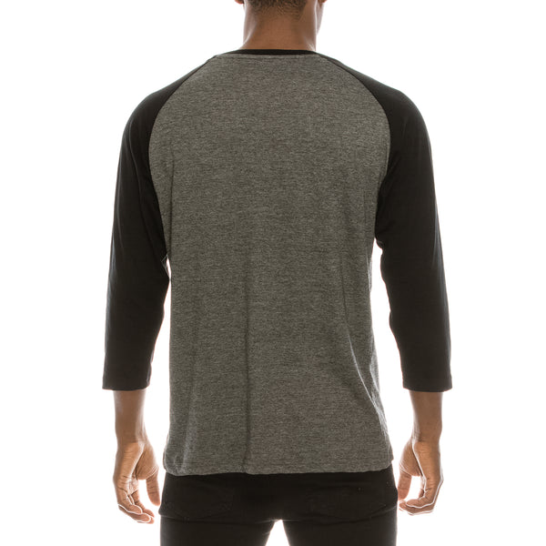 Copy of 3/4 SLEEVE RAGLAN TEE