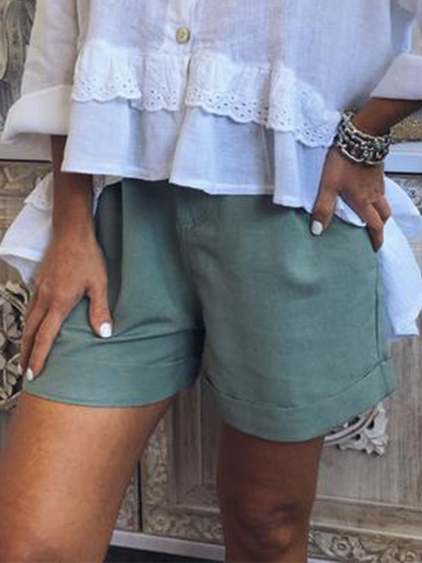 Women Casual Loose Pants Shorts