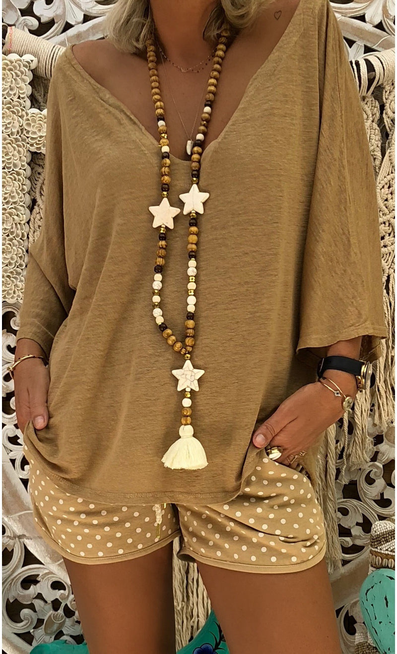 Plus Size Long Sleeve Casual V Neck T-Shirt