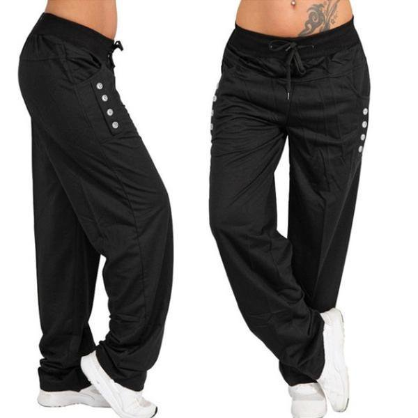 Casual High Waist Oversized Loose Leggings & Sports Pants
