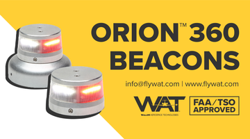 Orion 360 LED Beacons Now STC Approved!