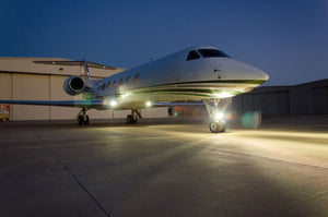 Wing Tip Landing Lights for Gulfstream GV, GV-SP
